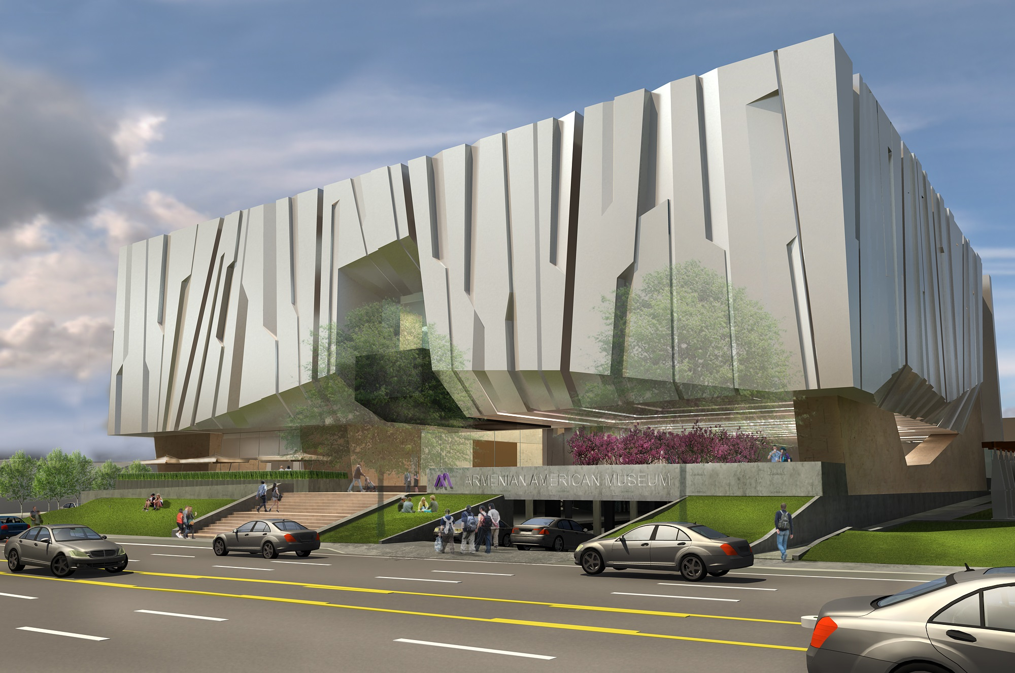 Armenian American Museum Unveils Concept Design for the Downtown