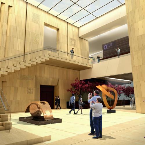 Armenian American Museum Entrance