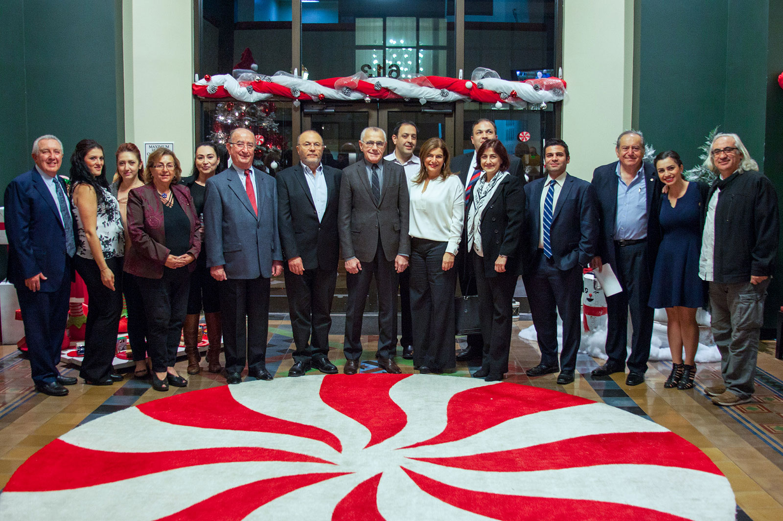 Armenian American Museum Development Committee 12-8-2015
