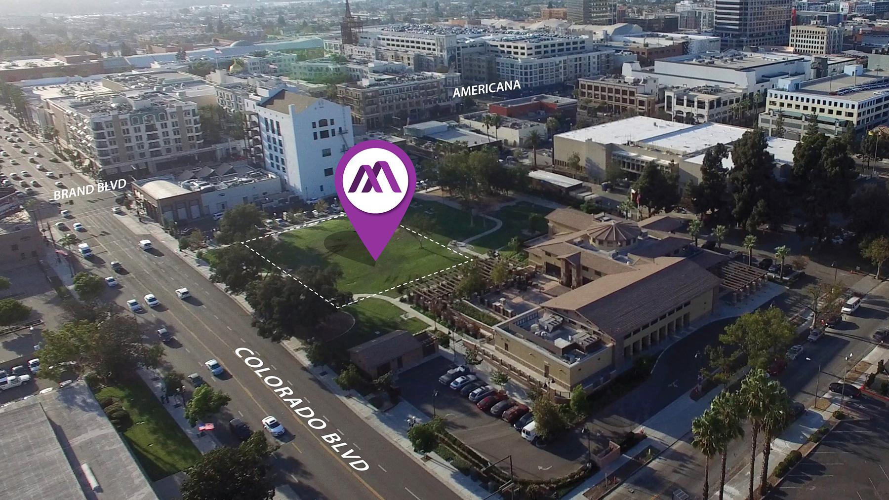 Armenian American Museum Downtown Glendale Site