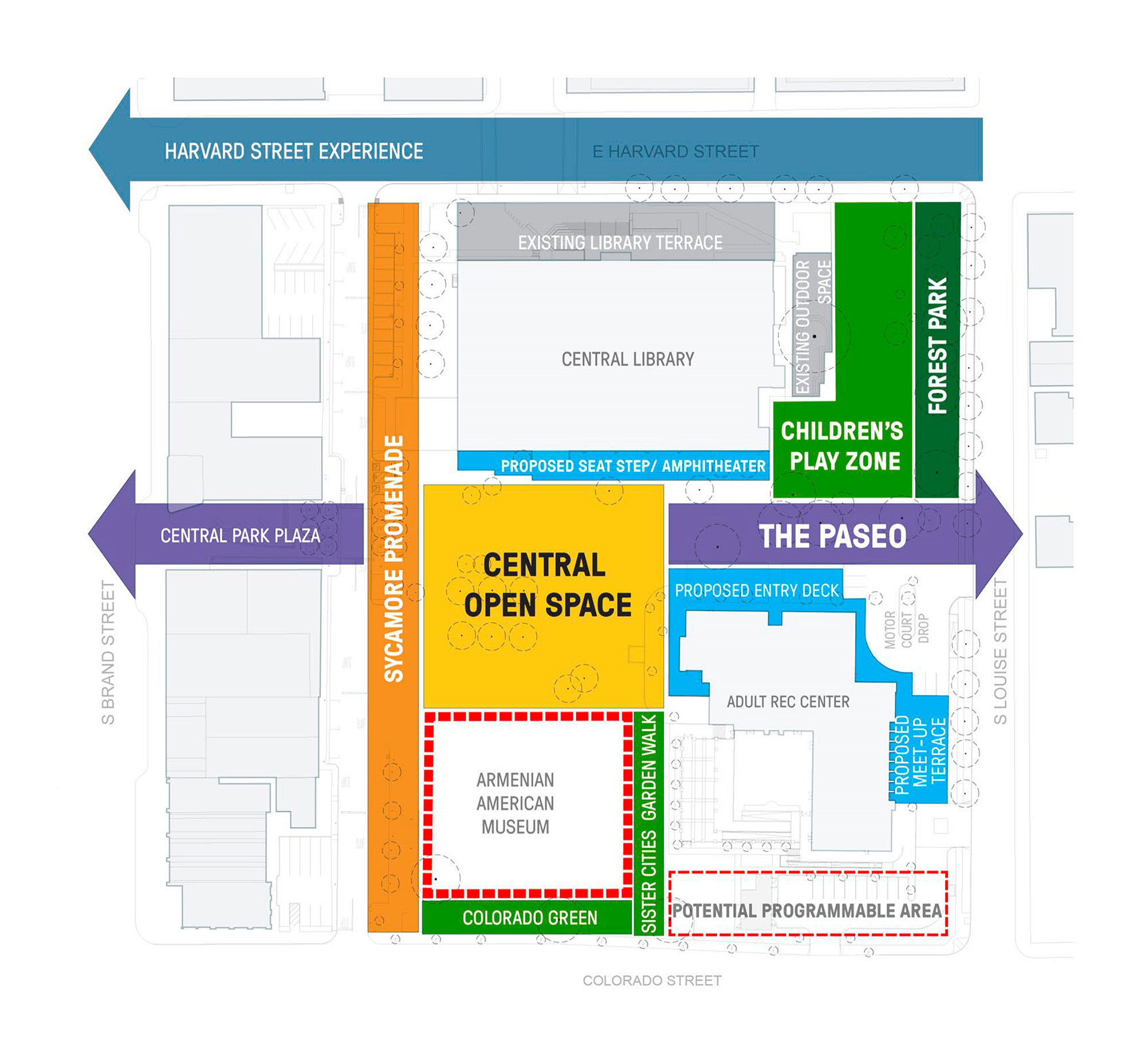 City of Glendale SWA Group Central Park Design Proposal