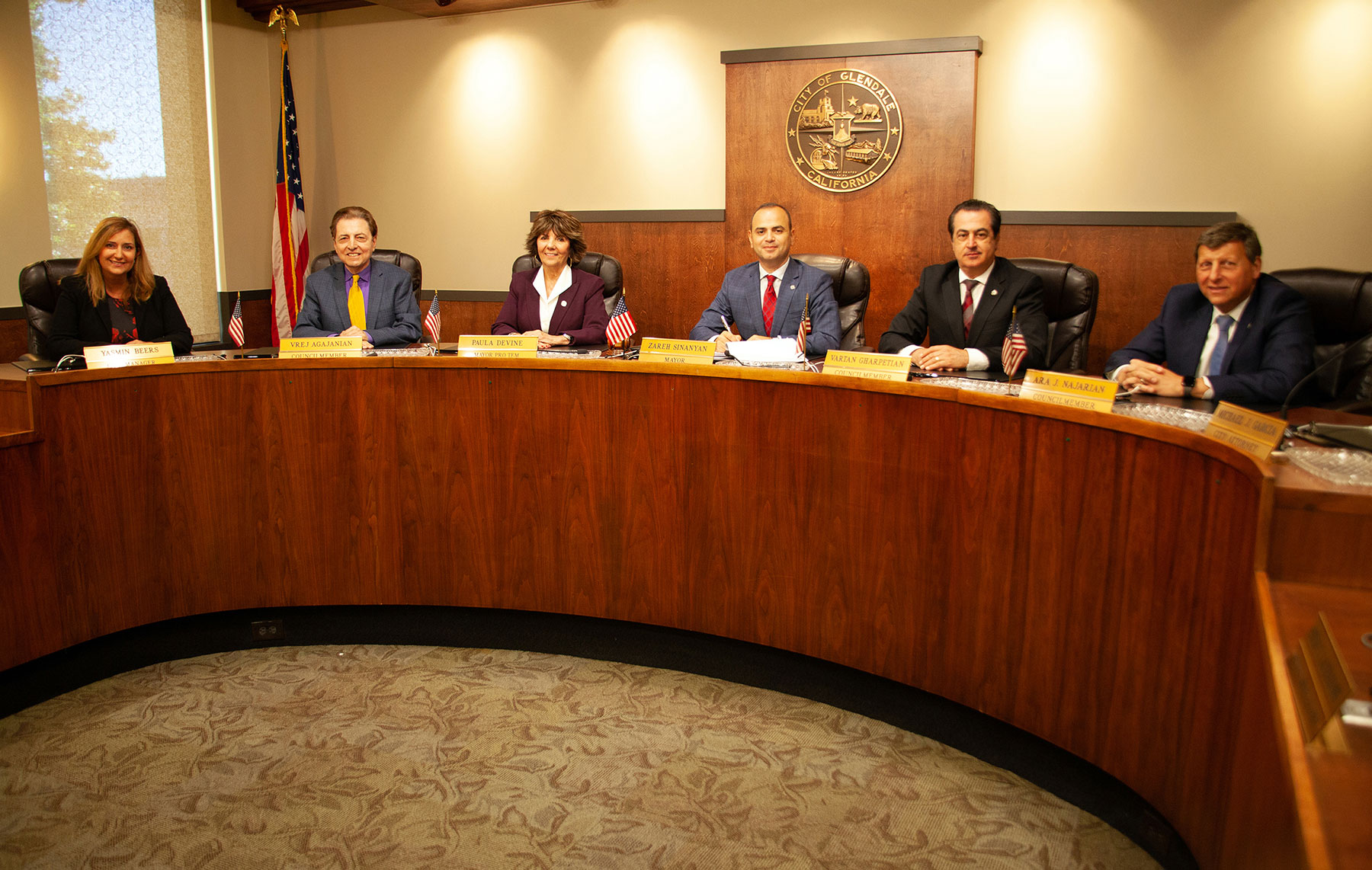 Glendale City Manager and City Council Sign the Armenian American Museum Ground Lease Agreement